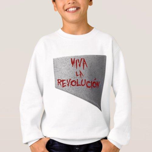 Viva la Revolucion Guillotine Sweatshirt