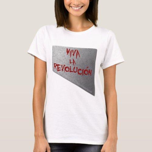 Viva la Revolucion Guillotine T_Shirt