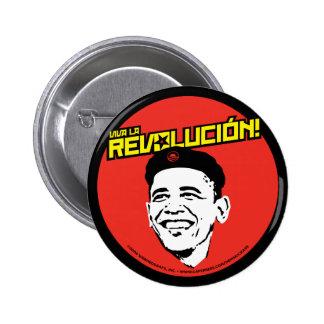 Viva La Revolucion! Round Button
