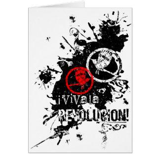 Viva La Revolucion (Splattered) Card