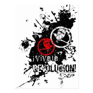 Viva La Revolucion (Splattered) Postcard