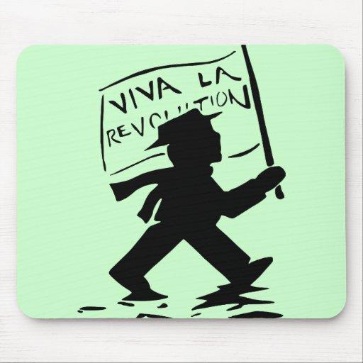 Viva La Revolution Mouse Pad