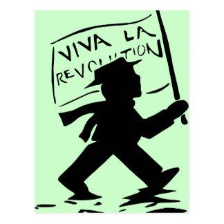Viva La Revolution Postcard