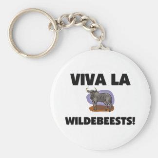 Viva La Wildebeests Keychain