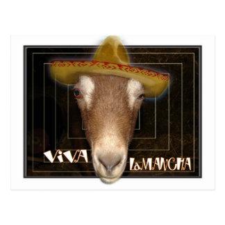 VIVA LAMANCHA - LONG LIVE THE GOAT! POSTCARD