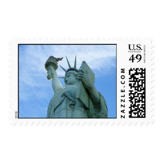 Viva Las Lady Liberty Postage Stamps