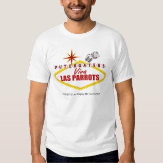 Viva Las Parrots T-shirts