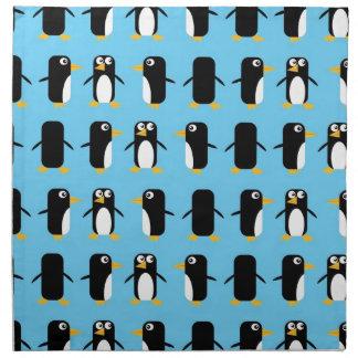 Viva Las Penguins! Cloth Napkin