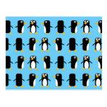 Viva Las Penguins! Postcard