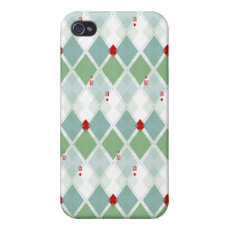 Viva Las Vegas Argyle Pattern  Speck Case iPhone 4 Cases