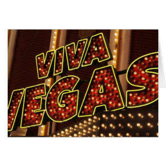 Viva Las Vegas Card