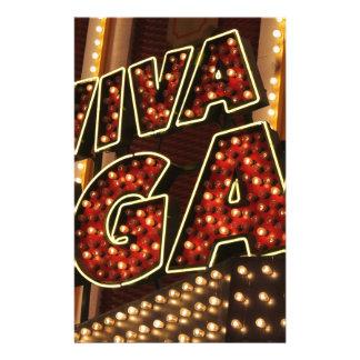 Viva Las Vegas Stationery