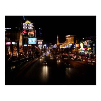 Viva Las Vegas Strip Postcard