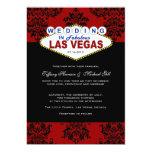 """Viva Las Vegas Wedding Invitation 5"""" X 7"""" Invitation Card"""