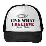 Viva lo que creo - Jesucristo Gorra