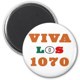 Viva Los 1070 2 Inch Round Magnet