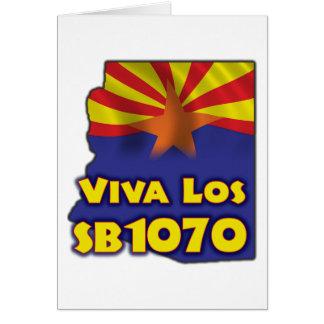 Viva Los SB1070 - Arizona Immigration Reform Card