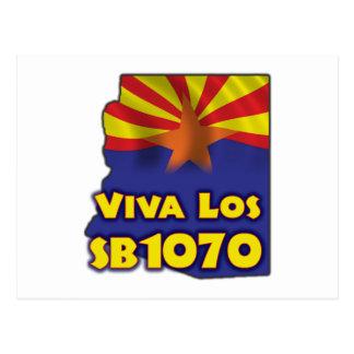 Viva Los SB1070 - Arizona Immigration Reform Postcard