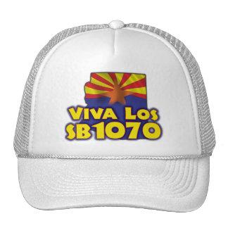 Viva Los SB1070 - Arizona Immigration Reform Trucker Hat