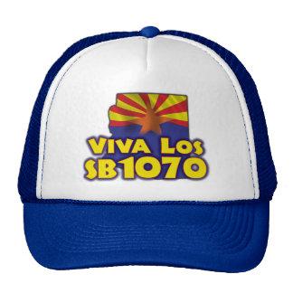 Viva Los SB1070 - Arizona Immigration Trucker Hat