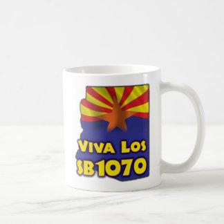 Viva Los SB1070 - reforma de inmigración de Arizon Tazas De Café