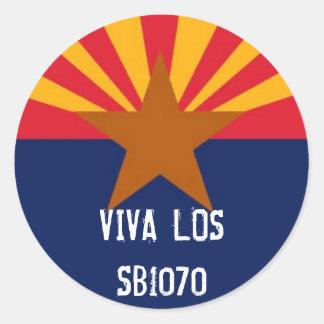 Viva Los SB1070 Sticker