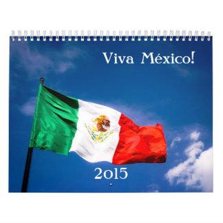 Viva México 2015 Calendarios De Pared