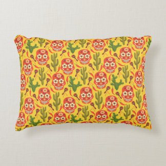 "Viva Mexico A Cotton Accent Pillow 16"" x 12"""