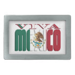 VIVA MEXICO BELT BUCKLES