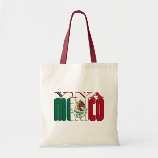 VIVA MEXICO BUDGET TOTE BAG