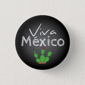 Viva México Button Pin / Botón
