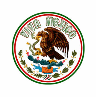 Viva Mexico  (Eagle from Mexican Flag) Photo Cut Out