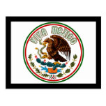 Viva Mexico  (Eagle from Mexican Flag) Postcard