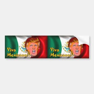 ¡Viva México!!! Etiqueta engomada de parachoques Pegatina Para Auto