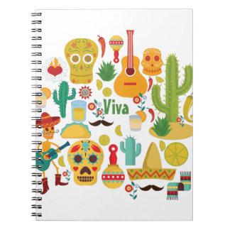 viva mexico notebook