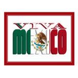 VIVA MEXICO POSTCARD