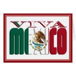 VIVA MÉXICO TARJETON