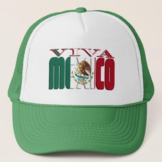 0f59b42d487d0 VIVA MEXICO TRUCKER HAT