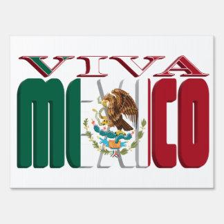 VIVA MEXICO YARD SIGN