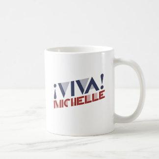 VIVA MICHELLE - .PNG TAZA BÁSICA BLANCA