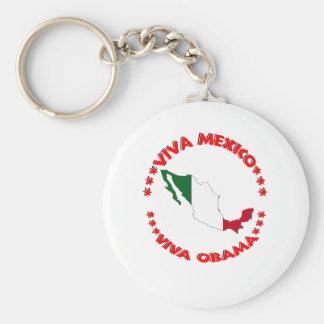 Viva OBAMA Keychain