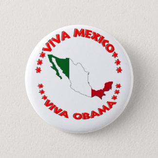 Viva OBAMA Pinback Button