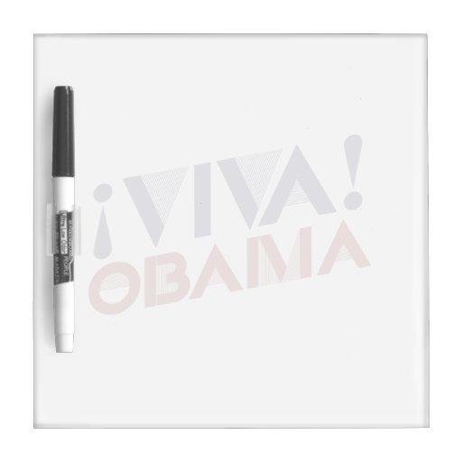VIVA OBAMA - .PNG PIZARRAS