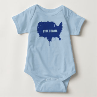 VIVA OBAMA INFANT CREEPER