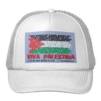 Viva Palestina Cap Mesh Hat