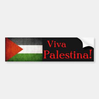 ¡Viva Palestina! Pegatina Para Auto