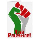Viva Palestine Greeting Cards