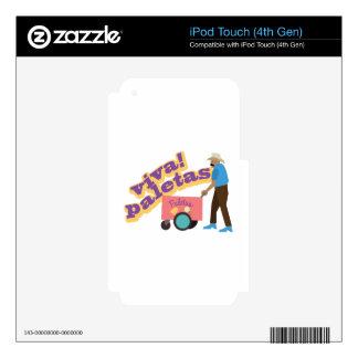Viva Paletas iPod Touch 4G Skin