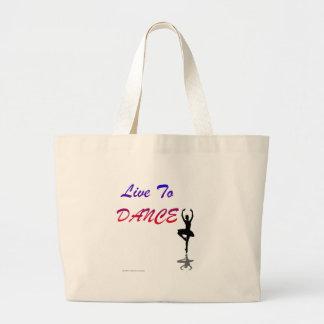 Viva para bailar (para los productos de color clar bolsa