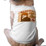 Viva para el diseño cristiano del regalo de la ave camisa de perrito